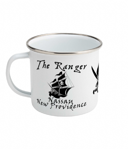 The Ranger Enamel Mug Inspired by Black Sails
